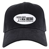 Never Knew A Hero 2 Grey (Best Friend) Baseball Hat