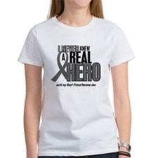 Never Knew A Hero 2 Grey (Best Friend) Tee