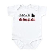 Rather Be Studying Latin Onesie