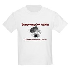 Burrowing Owl Addict T-Shirt