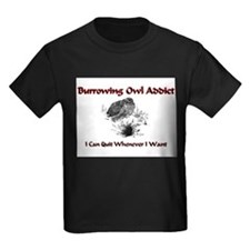 Burrowing Owl Addict T