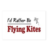 Rather Be Flying Kites Postcards (Package of 8)