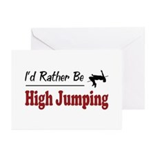 Rather Be High Jumping Greeting Cards (Pk of 20)