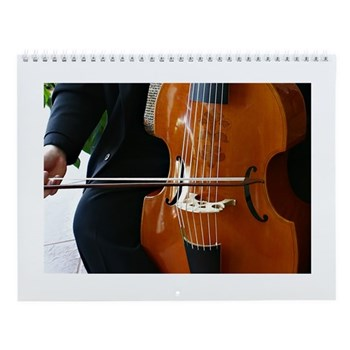 Viols in Our Schools Viola da Gamba Wall Calendar