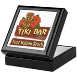 Ft. Walton Beach Tiki Bar - Keepsake Box