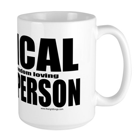 Typical White Person Large Mug