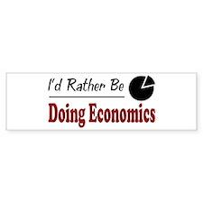 Rather Be Doing Economics Bumper Bumper Stickers