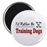 "Rather Be Training Dogs 2.25"" Magnet (100 pack)"