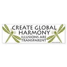 Create Global Harmony Bumper Bumper Sticker