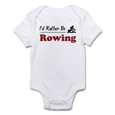 Rather Be Rowing Onesie