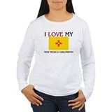 I Love My New Mexico Girlfriend T-Shirt