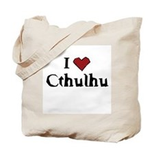 I heart Cthulhu Tote Bag