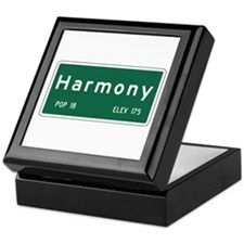 Harmony, CA (USA) Keepsake Box