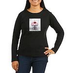 Sexy Cupcake Women's Long Sleeve Dark T-Shirt