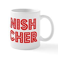 Retro Spanish Tea.. (Red) Mug