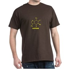 Caffeine - Yellow - T-Shirt