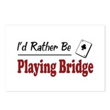 Rather Be Playing Bridge Postcards (Package of 8)