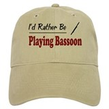 Rather Be Playing Bassoon Baseball Cap