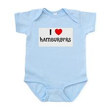 I LOVE HAMBURGERS Infant Creeper