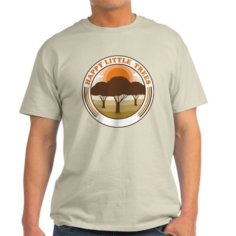 happy little trees Light T-Shirt