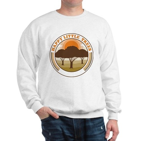 happy little trees Sweatshirt