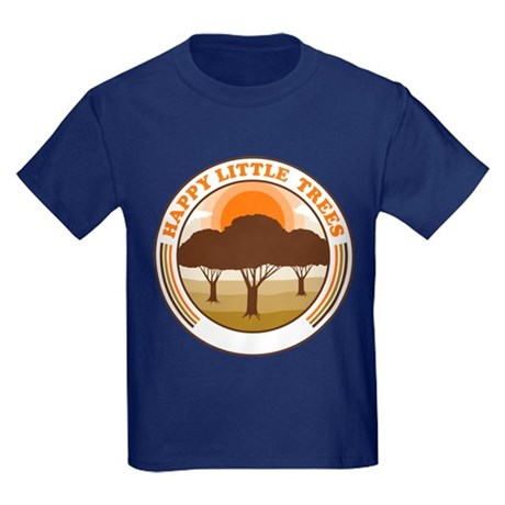 happy little trees Kids T-Shirt