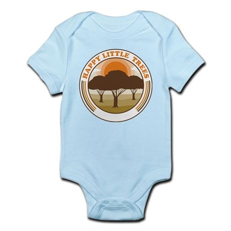 happy little trees Infant Bodysuit