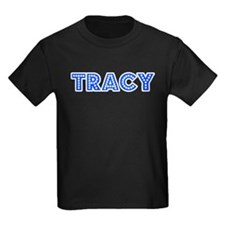 Retro Tracy (Blue) T
