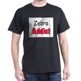 Zebra Addict T-Shirt