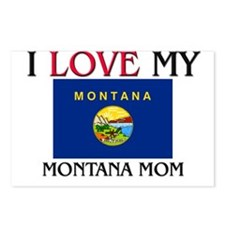 I Love My Montana Mom Postcards (Package of 8)