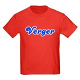 Retro Verger (Blue) T