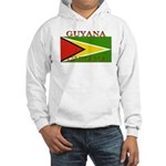 Guyana Guyanese Flag Hooded Sweatshirt