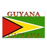 Guyana Guyanese Flag Postcards (Package of 8)