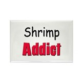 Shrimp Addict Rectangle Magnet (10 pack)