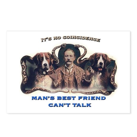Man's Best Friend Postcards (Package of 8)