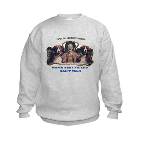 Man's Best Friend Kids Sweatshirt