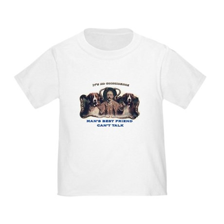 Man's Best Friend Toddler T-Shirt