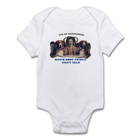 Man's Best Friend Infant Bodysuit