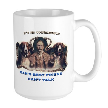 Man's Best Friend Large Mug
