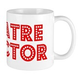 Retro Theatre dir.. (Red) Mug