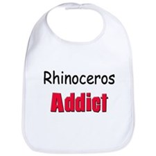 Rhinoceros Addict Bib