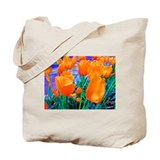 Tip Toe n' Tulips Tote Bag