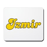 Retro Izmir (Gold) Mousepad