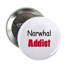 "Narwhal Addict 2.25"" Button (10 pack)"