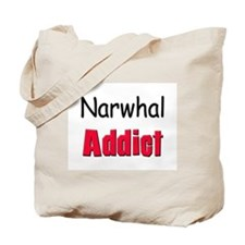 Narwhal Addict Tote Bag