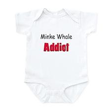 Minke Whale Addict Infant Bodysuit