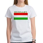 Hungary Hungarian Flag Women's T-Shirt