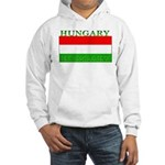 Hungary Hungarian Flag Hooded Sweatshirt