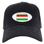 Hungary Hungarian Flag Black Cap