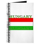 Hungary Hungarian Flag Journal